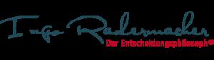 Keynote Speaker buchen: Ingo Radermacher   Der Entscheidungsphilosoph®