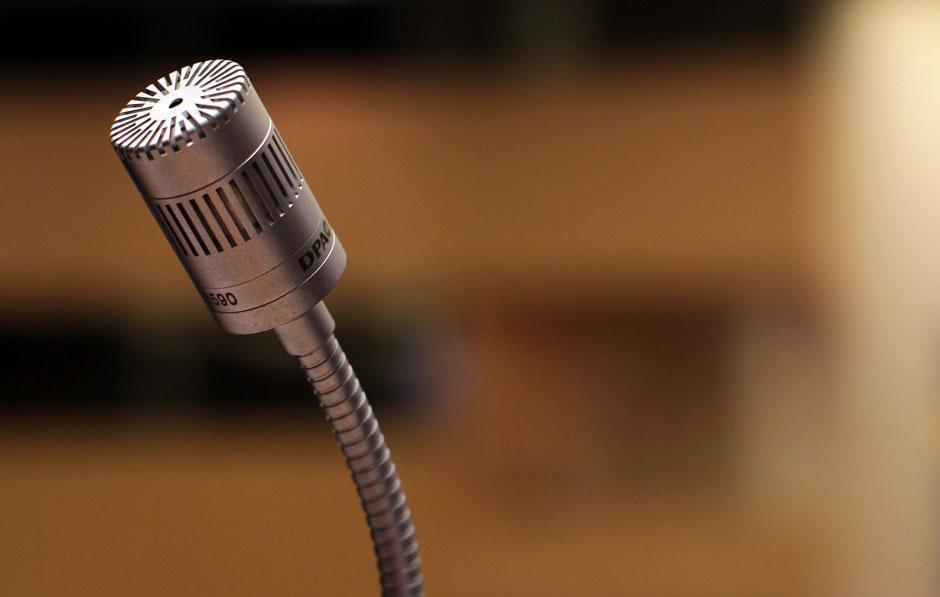 Mikrofon: Keynote Speaker Ausbildung abschließen