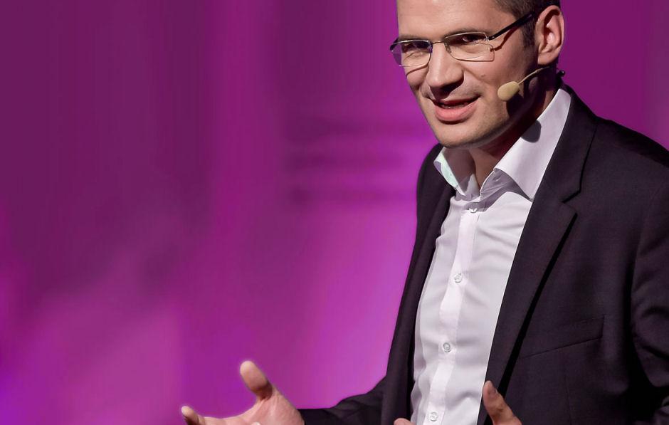 Ingo Radermacher bei einer Rede