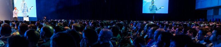 Publikum bei Keynote