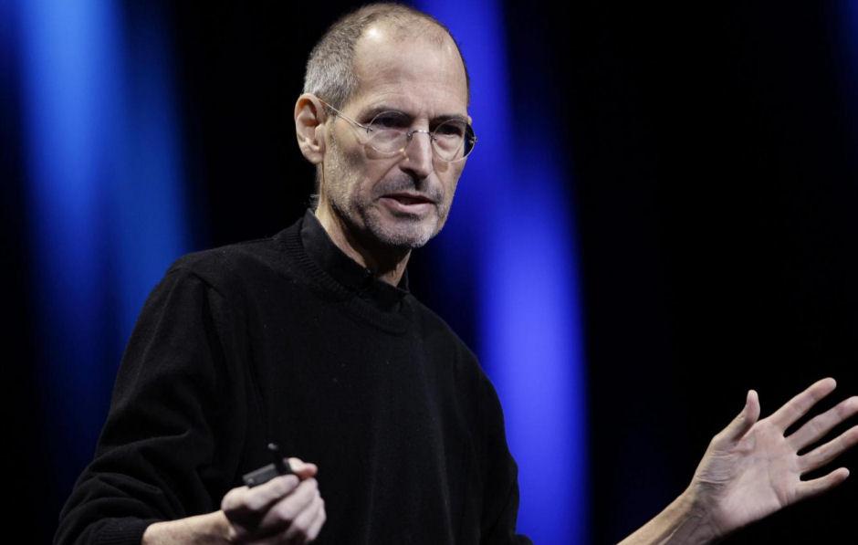 Steve Jobs bei einer Präsentation